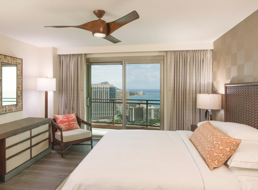Grand Islander Penthouse Bedroom
